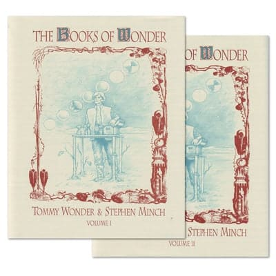books of wonder by tommy wonder
