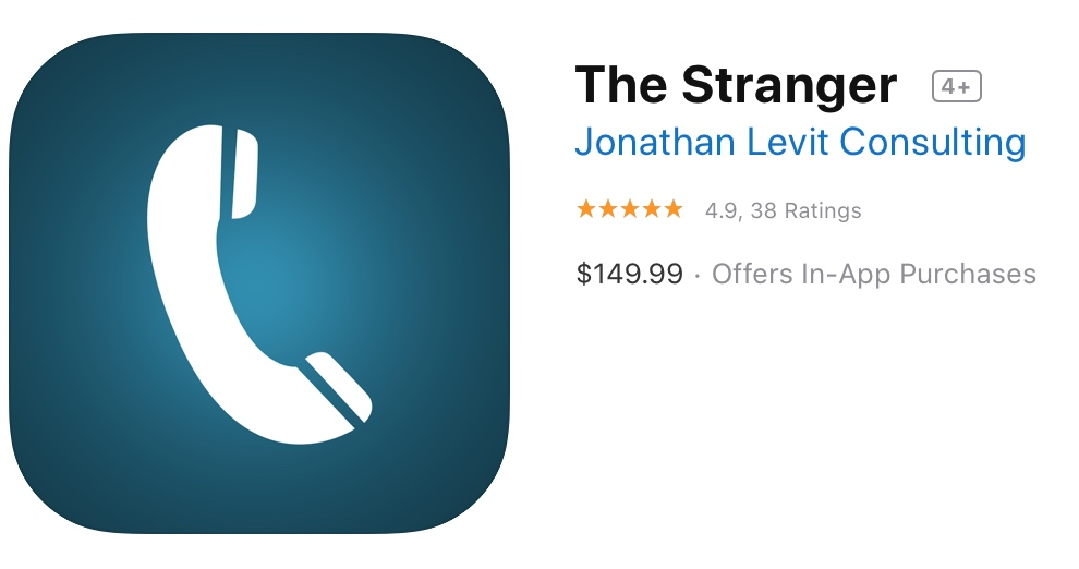 The Stranger App Store Reviews