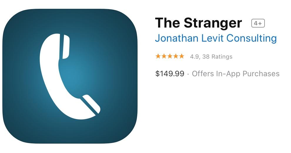 The Stranger App Store Reviews