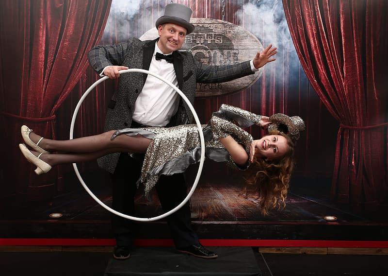 Magician Performing
